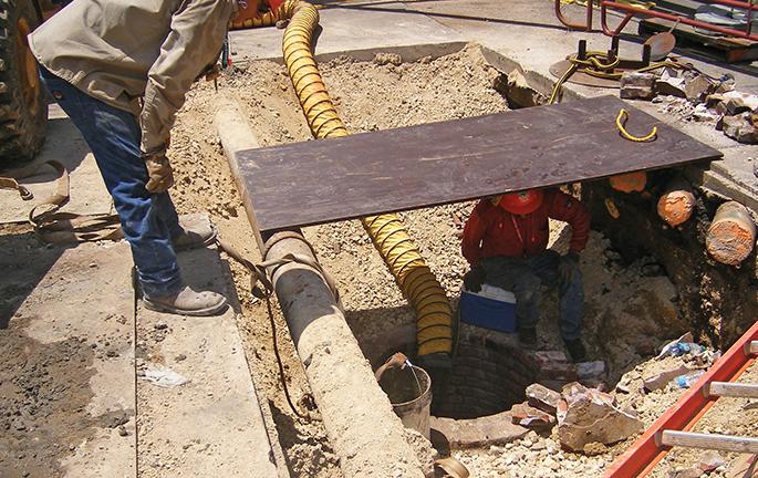 HDPE pipe-bursting pull