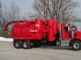 Arctic Supersucker Vacuum Truck