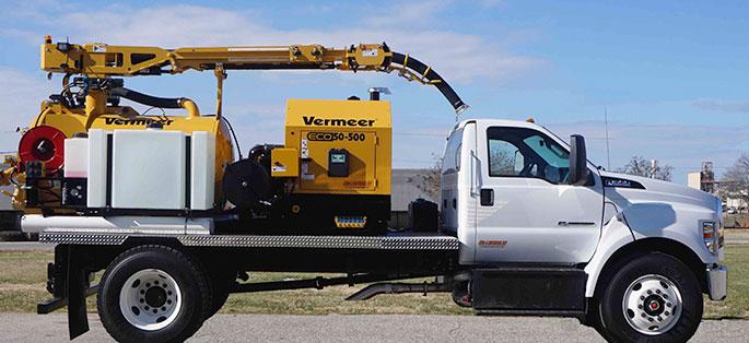 Truck Mounted Vacuum Excavators