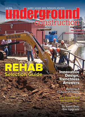 July 2016 Underground Construction magazine