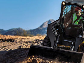 John Deere 324E Skid Steer Loader
