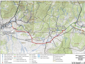 Lake Powell Pipeline Route