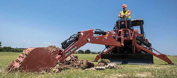 DitchWitch RT105