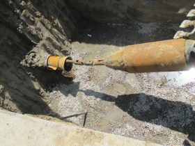 Pre-Chlorinated Pipe Bursting