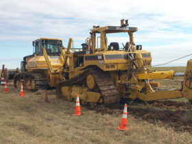 Texas Panhandle Fiber Installation