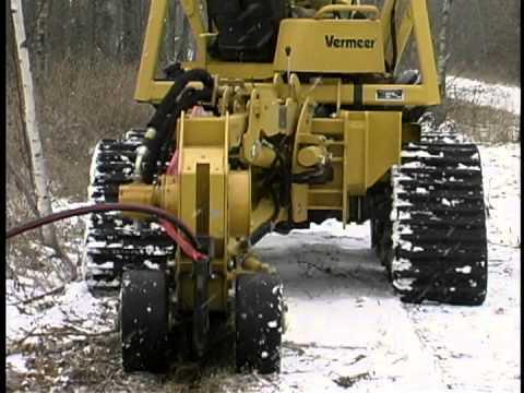 Vermeer RTX750 Tractor with Plow