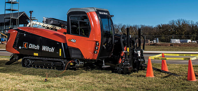 Ditch Witch JT40 Hdd Rig
