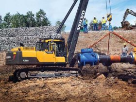 Pipelayer maintenance