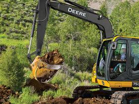 Deere 75G Excavators