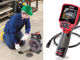 hand-held inspection cameras