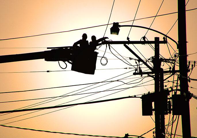 undergrounding power lines