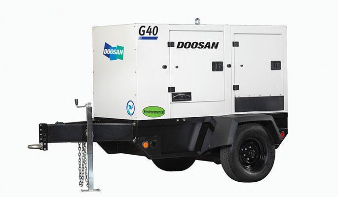 G40WDO mobile generator