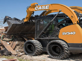 CASE airles radial tires