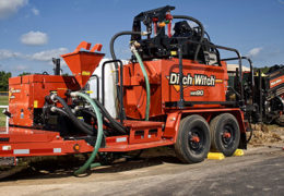 Ditch Witch mud mixing systems