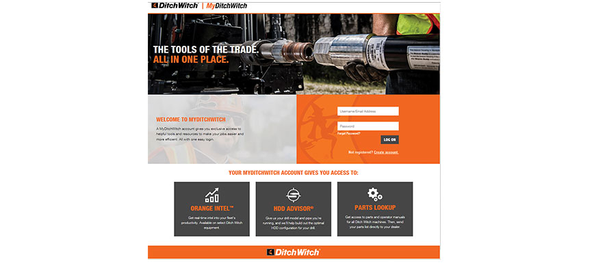 Ditch Witch online