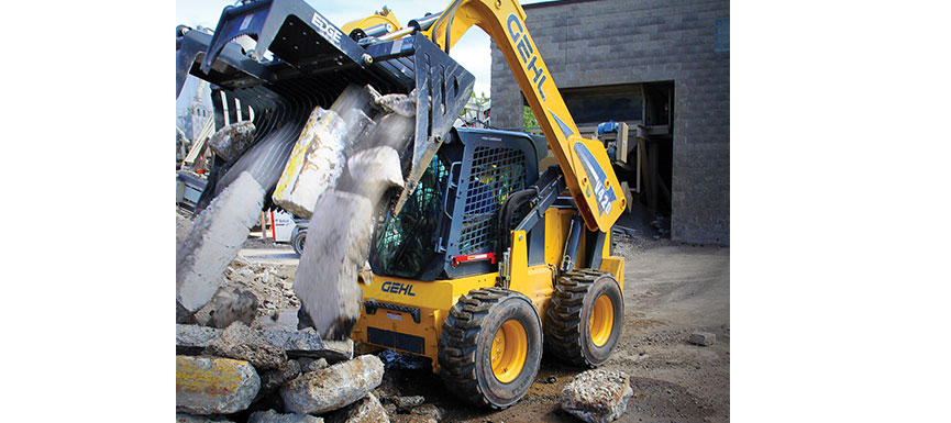 gehl mustang skid steer loaders