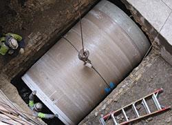 HOBAS pipe sliplining
