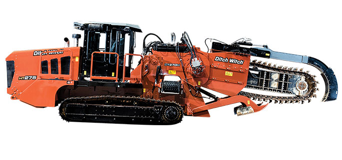First Look: Ditch Witch Introduces Unique Track Trencher