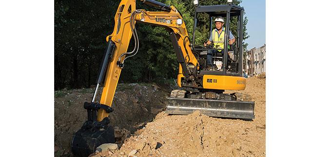 LiuGong North America's compact 9035EZTS excavator