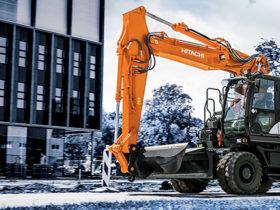 Hitachi introduces its next-generation wheeled excavator