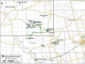 OWL's Permian water pipelines and disposal wells.