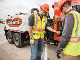 Ditch Witch vacuum excavation training