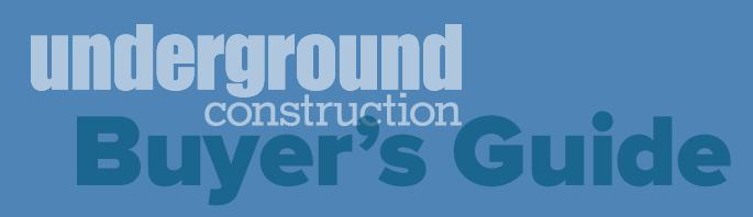 Underground Construction Buyer's Guide