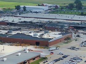 Vermeer tornado damage