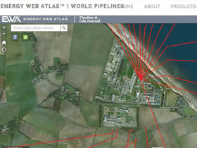 Energy Web Atlas pipelines