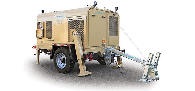 ARS610 hydraulic puller