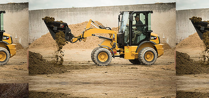 Cat 903D compact wheel loader