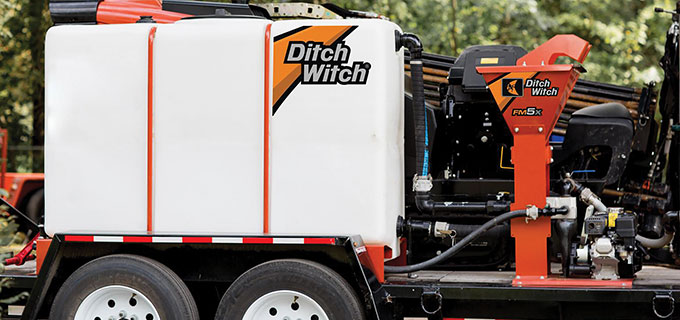 Ditch Witch Fluid Management System