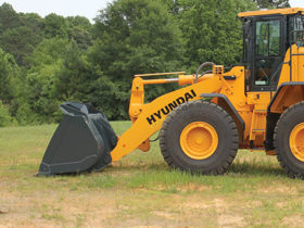 Hyundai Wheel Loader Guarding Package