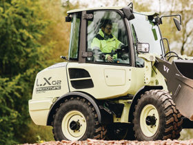 Volvo Electric Compact Wheel Loader