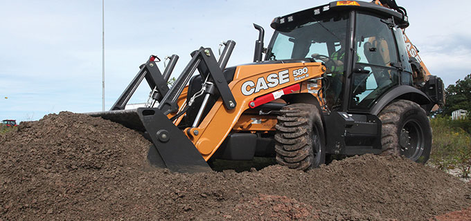 Case TV40 compact track loader