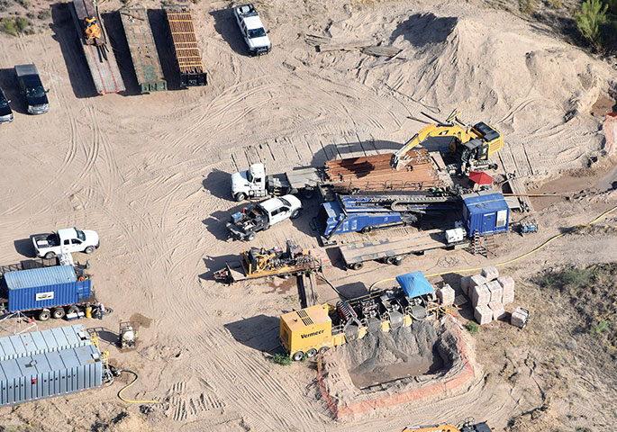 Hard Rock Completes Steel Gas Pipe Crossing Under Rio Grande