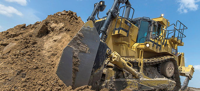 40,000th Cat large dozer