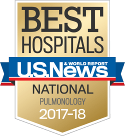 Our lung specialists rank nationally for pulmonology by U.S. News & World Report - UCHealth
