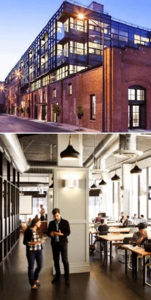 Catalyst Health building exterior and interior