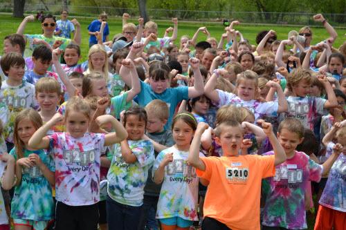 Healthy Kids Club 5210 challenge