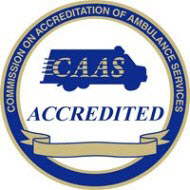 CAAS accreditation logo for UCHealth EMS