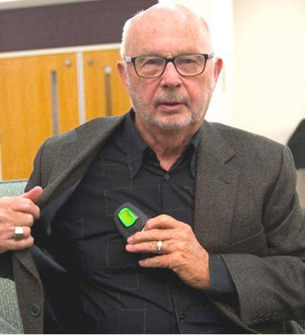 Inspire therapy patient Jim Nixon