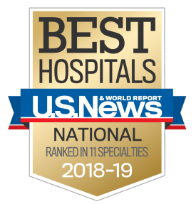 US News UCH Nationally Ranked in 11 Specialties
