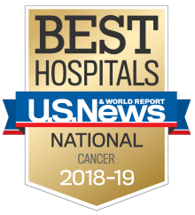 US News UCH Best Hospitals Cancer 2018-19