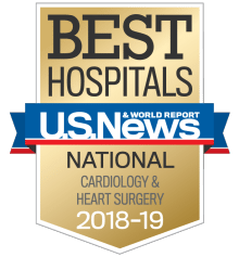 US News UCH Best Hospitals Cardiology and Heart Surgery 2018-19