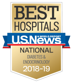 US News UCH Best Hospitals Diabetes and Endocrinology 2018-19