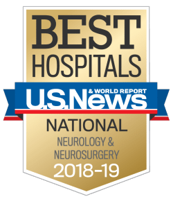 US News UCH Best Hospitals Neurology and Neurosurgery 2018-19