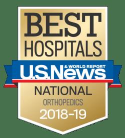 US News UCH Best Hospitals Orthopedics 2018-19