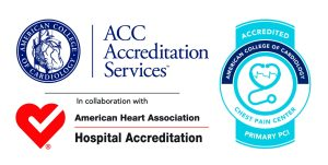 ACC chest pain accreditation badge