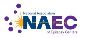 National Association of Epilepsy Centers badge